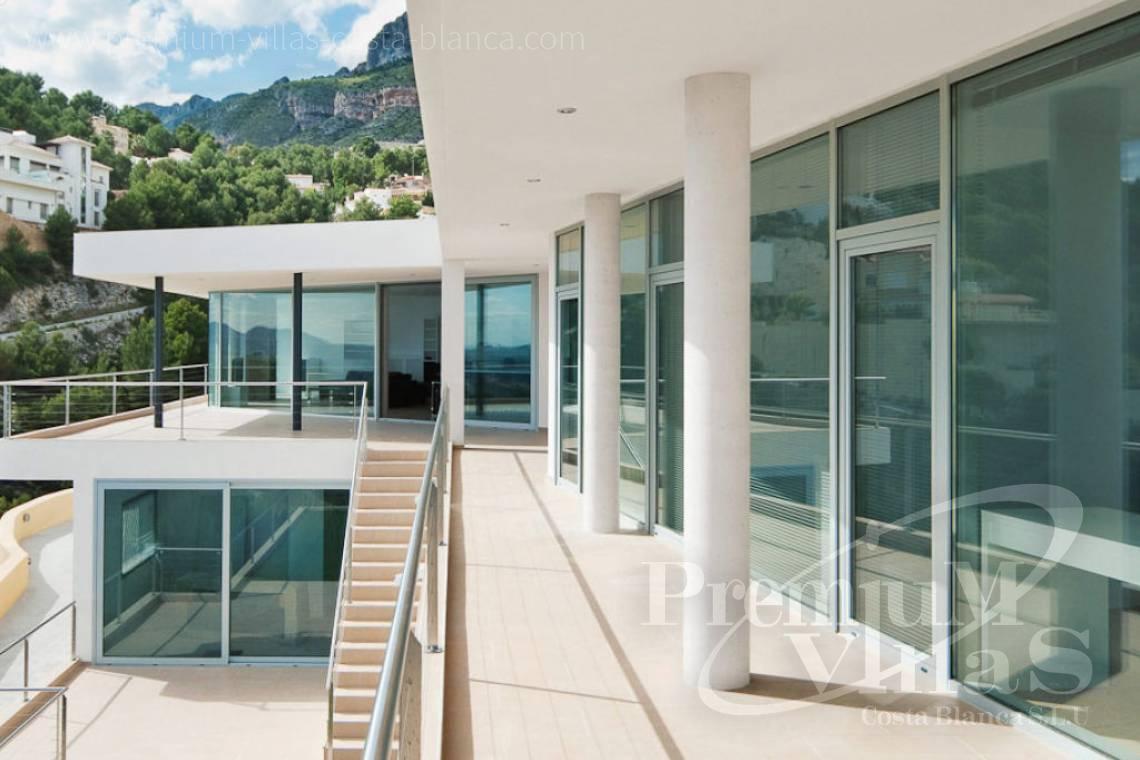 Villa de luxe moderne à vendre à Altea avec une magnifique vue sur ...