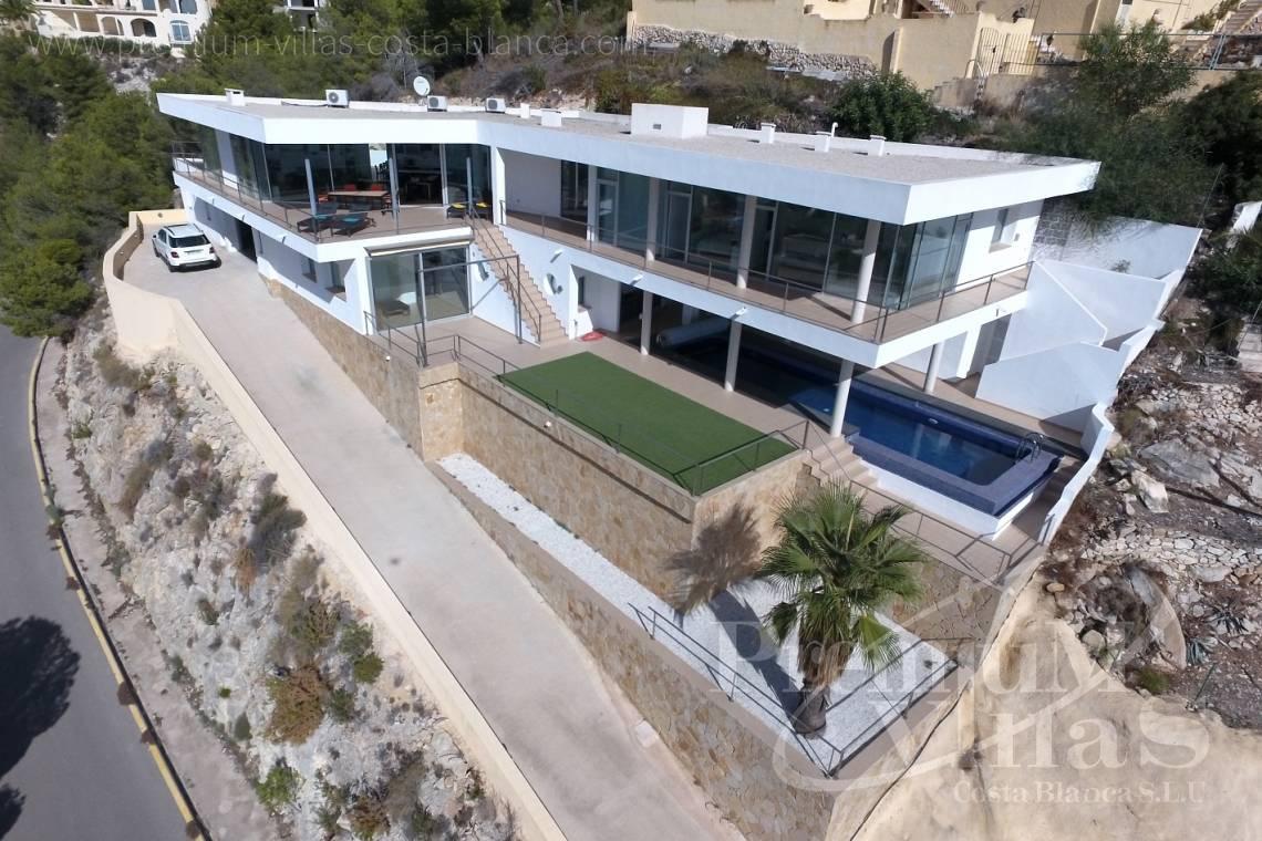 maison moderne Altea Costa Blanca Espagne Villa de luxe moderne à ...