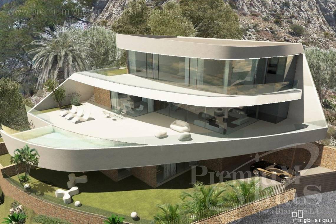 Villa moderne altea costa blanca espagne nouveau projet de for Villa ultra moderne