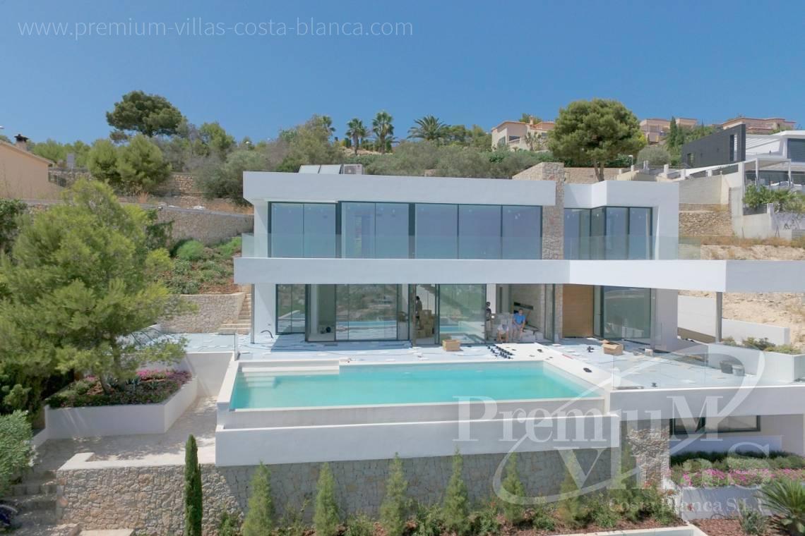 villa de luxe Calpe Costa Blanca Espagne Villa moderne à vendre