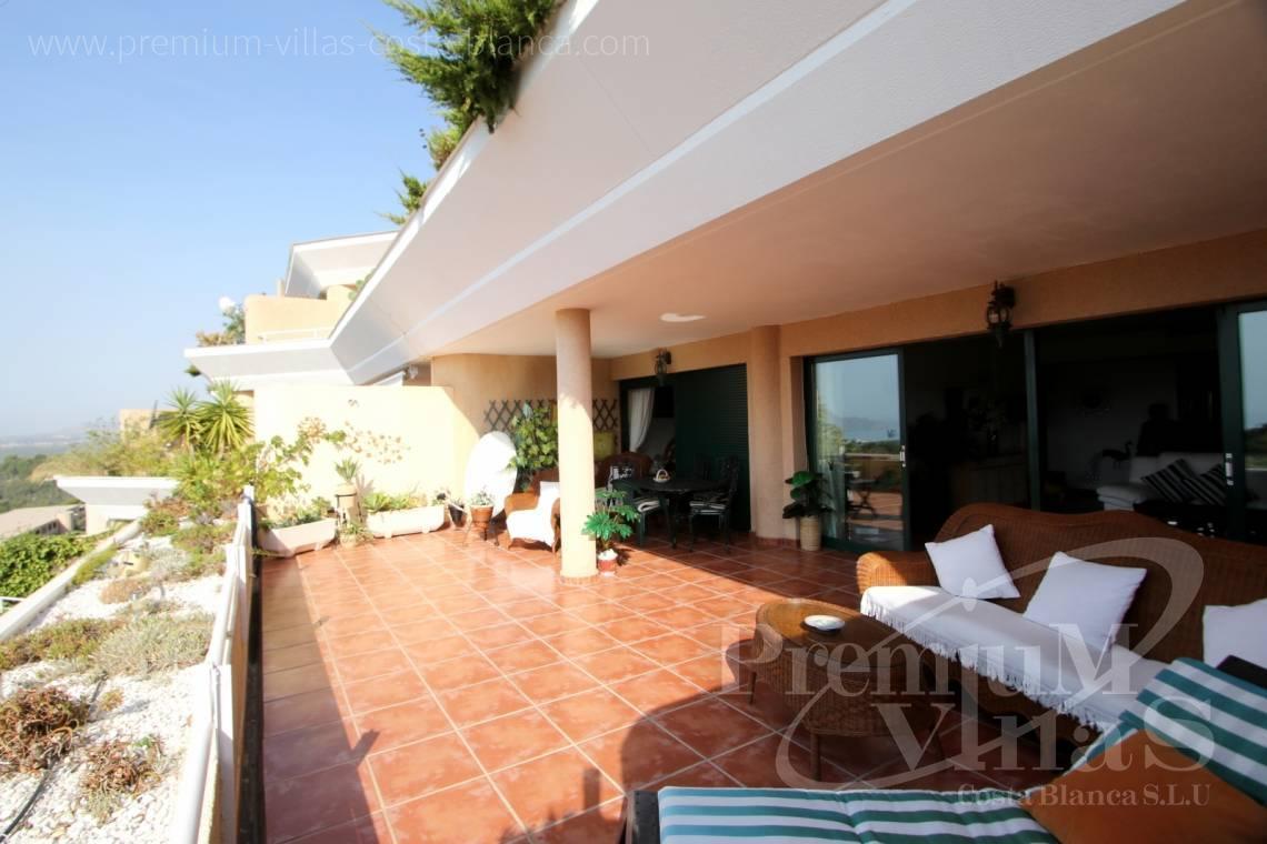 Appartement altea costa blanca espagne spacieux for Appartement avec terrasse