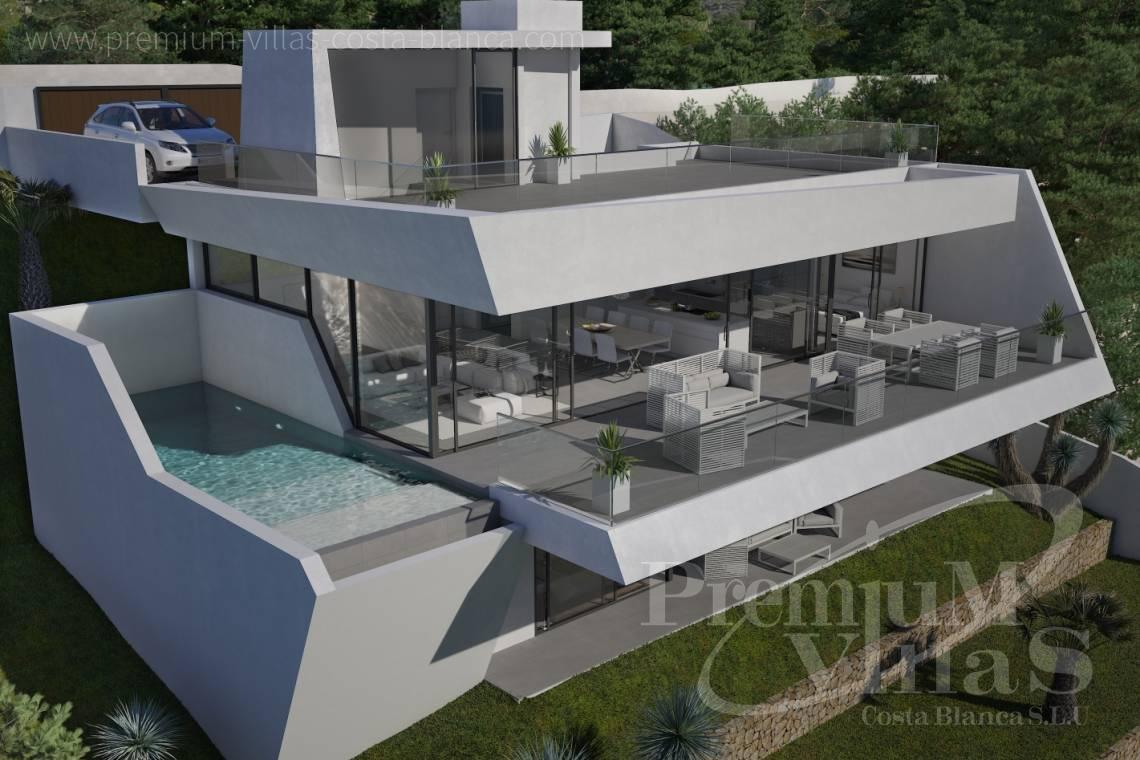villa moderne altea costa blanca espagne altea hills moderne villa de luxe avec fantastique vue. Black Bedroom Furniture Sets. Home Design Ideas