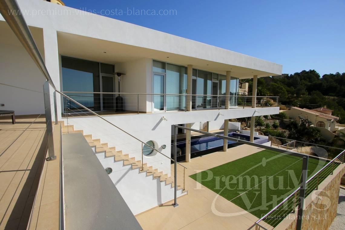 Villa de luxe moderne à vendre à Altea avec une magnifique ...